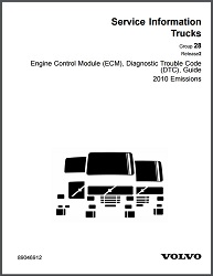 Volvo Truck Diagnostic Trouble Code Guide