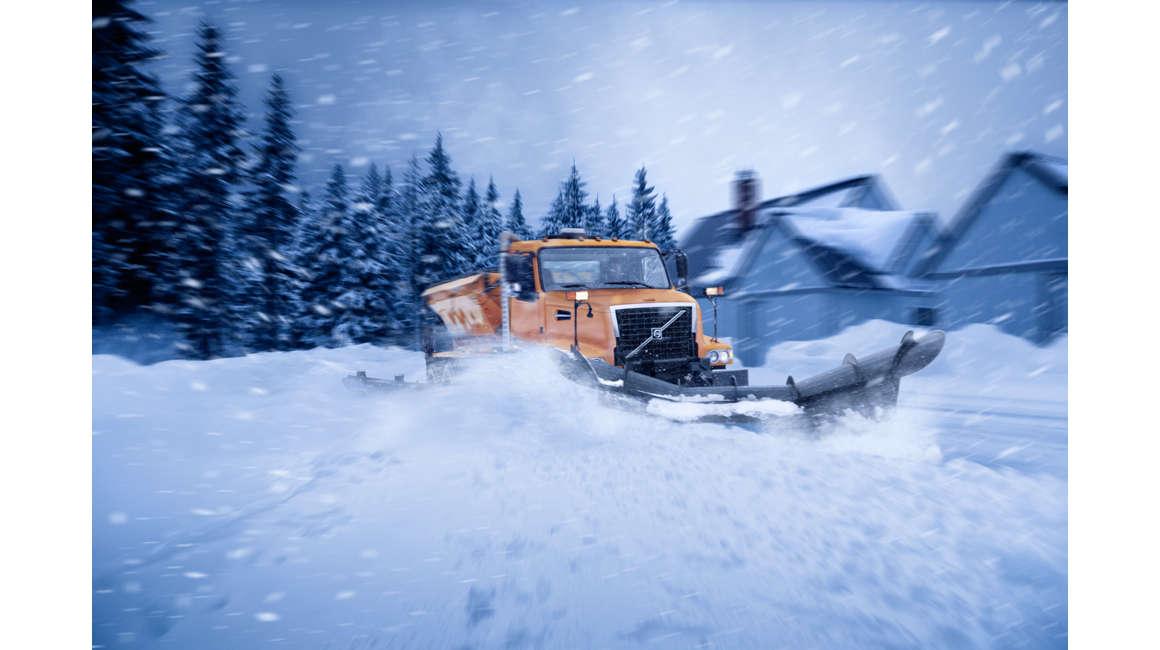Volvo VHD Winter Snow
